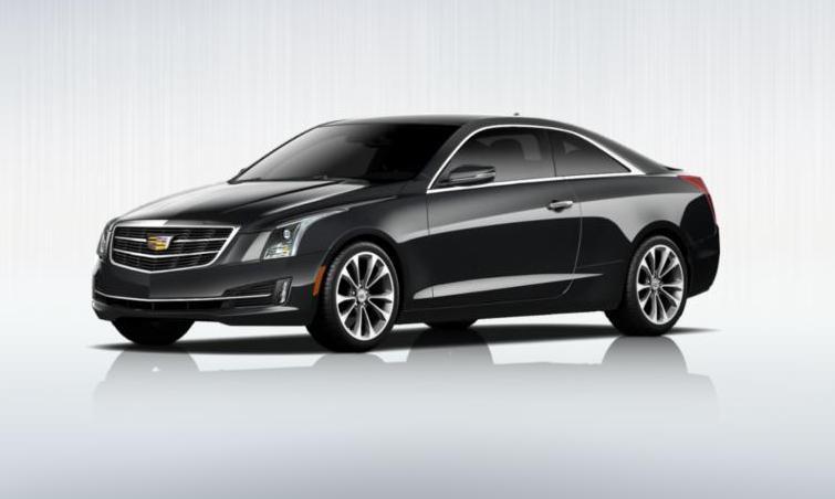 Black 2015 Cadillac ATS Coupe Premium 30