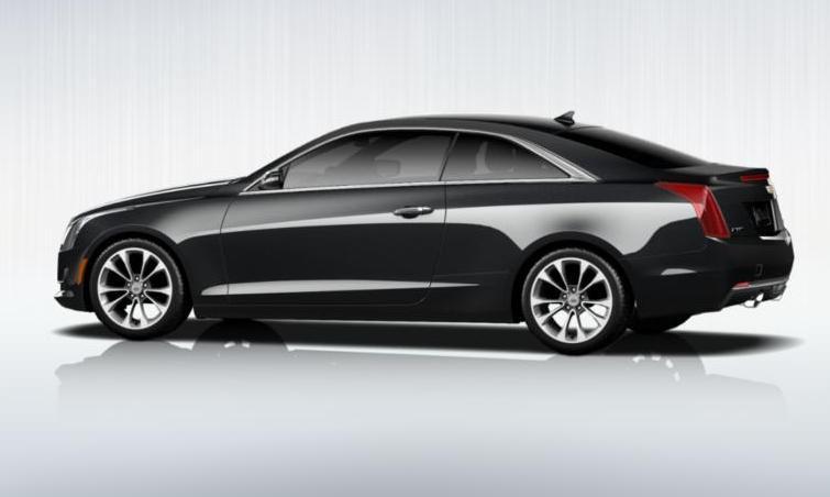 Black 2015 Cadillac ATS Coupe Premium 37