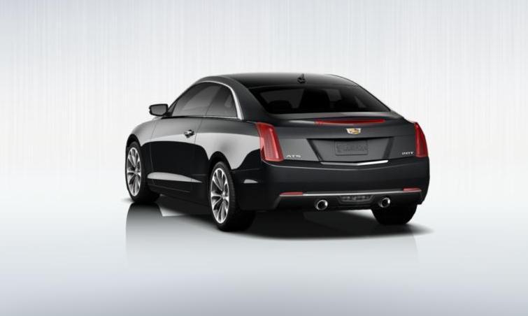 Black 2015 Cadillac ATS Coupe Premium 6