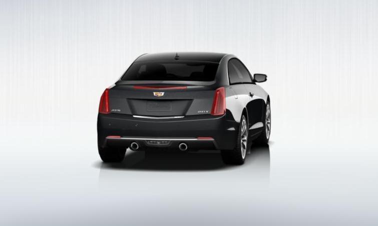 Black 2015 Cadillac ATS Coupe Premium 9