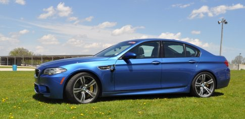 Car-Revs-Daily Track Tests 2014 BMW M5 38