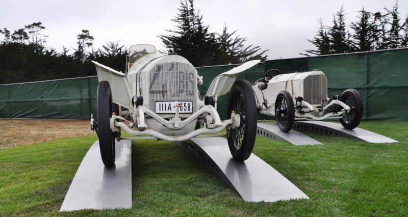 Car-Revs-Daily.com 1914 Mercedes-Benz French Grand Prix Cars 4