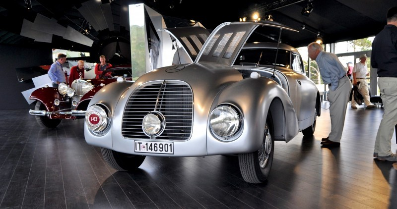 Car-Revs-Daily.com 1938 Mercedes-Benz 540K Streamliner is One-Off Coupe With Wrap-Around Glass and Aero-Smooth Design 15