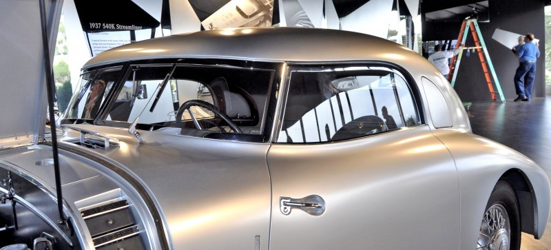Car-Revs-Daily.com 1938 Mercedes-Benz 540K Streamliner is One-Off Coupe With Wrap-Around Glass and Aero-Smooth Design 17
