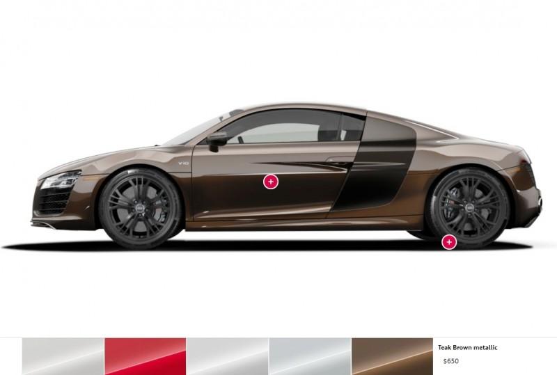 Car-Revs-Daily.com 2014 AUDI R8 V10 Plus in Sepang Matte Metallic Blue 100