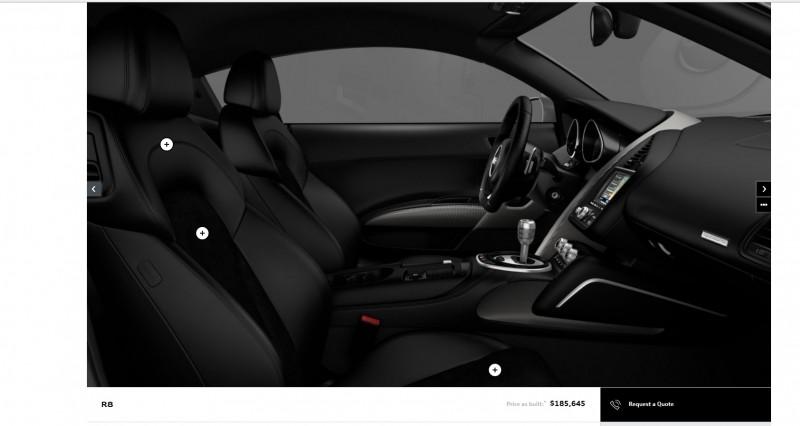 Car-Revs-Daily.com 2014 AUDI R8 V10 Plus in Sepang Matte Metallic Blue 108