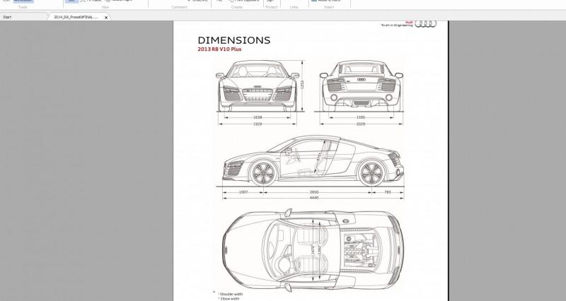 Car-Revs-Daily.com 2014 AUDI R8 V10 Plus in Sepang Matte Metallic Blue 115