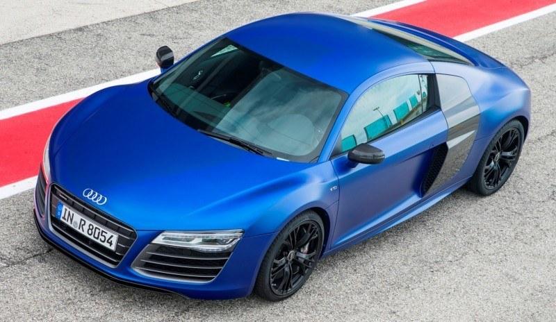 Car-Revs-Daily.com 2014 AUDI R8 V10 Plus in Sepang Matte Metallic Blue 22