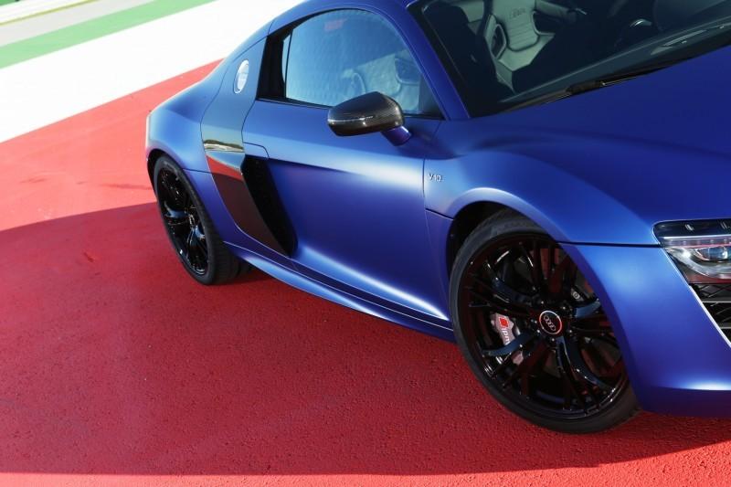 Car-Revs-Daily.com 2014 AUDI R8 V10 Plus in Sepang Matte Metallic Blue 51