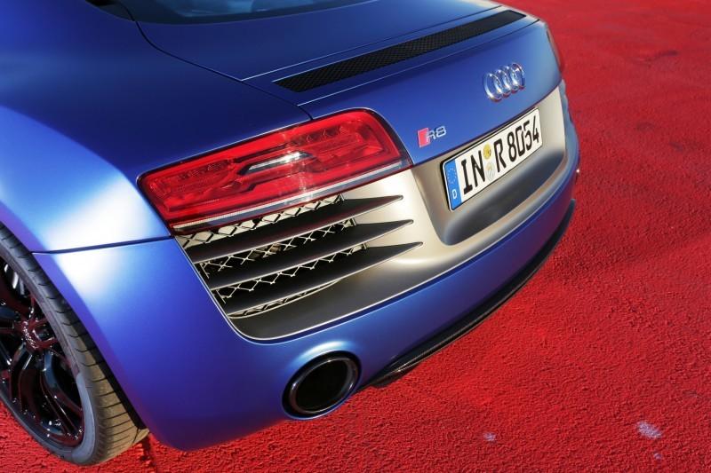 Car-Revs-Daily.com 2014 AUDI R8 V10 Plus in Sepang Matte Metallic Blue 63