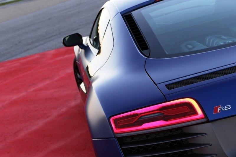Car-Revs-Daily.com 2014 AUDI R8 V10 Plus in Sepang Matte Metallic Blue 74