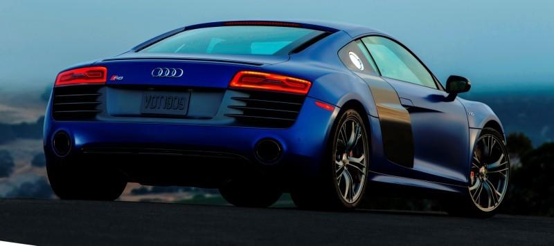 Car-Revs-Daily.com 2014 AUDI R8 V10 Plus in Sepang Matte Metallic Blue 79