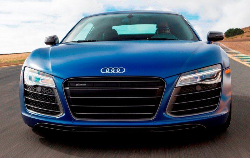 Car-Revs-Daily.com 2014 AUDI R8 V10 Plus in Sepang Matte Metallic Blue 84