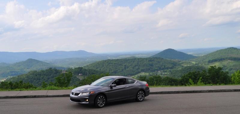 Car-Revs-Daily.com 2014 Accord Coupe EX-L V6 Navi at Blue Ridge Parkway 246