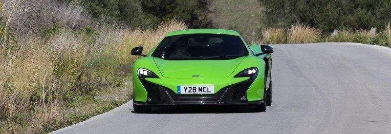 Car-Revs-Daily.com 2014 McLaren 650S Coupe and Spider Launch Ascari Circuit 104