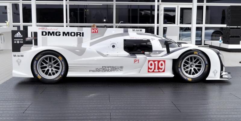 Car-Revs-Daily.com 2014 Porsche 919 LMP1 Racecar at the Quail 10