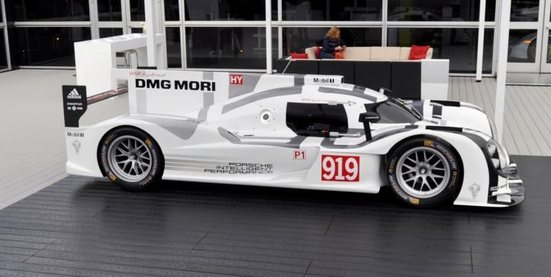 Car-Revs-Daily.com 2014 Porsche 919 LMP1 Racecar at the Quail 100
