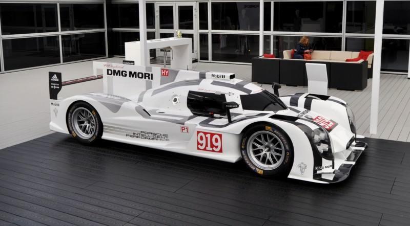 Car-Revs-Daily.com 2014 Porsche 919 LMP1 Racecar at the Quail 103