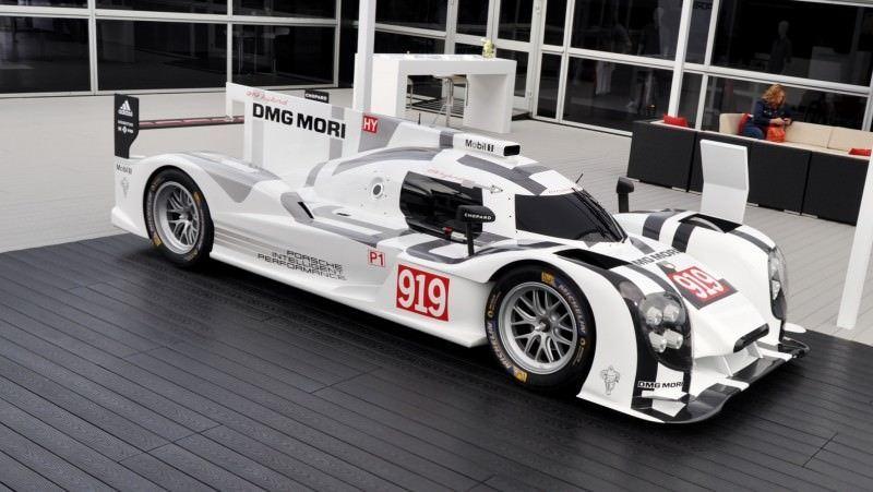 Car-Revs-Daily.com 2014 Porsche 919 LMP1 Racecar at the Quail 106