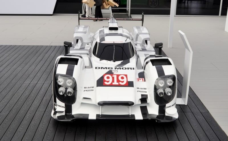 Car-Revs-Daily.com 2014 Porsche 919 LMP1 Racecar at the Quail 114