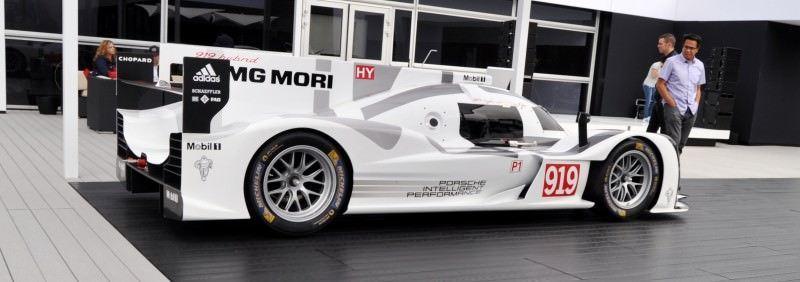 Car-Revs-Daily.com 2014 Porsche 919 LMP1 Racecar at the Quail 13
