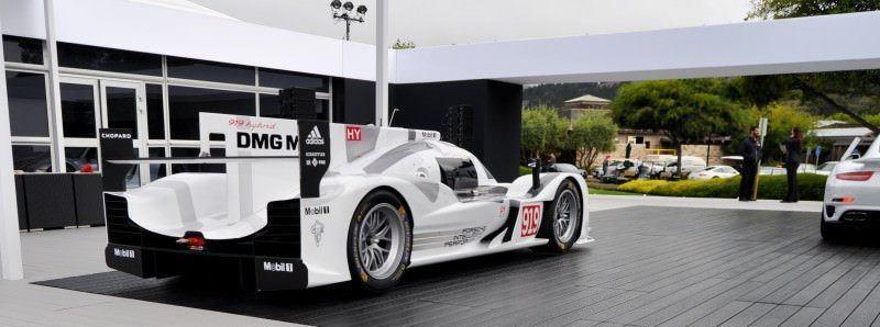 Car-Revs-Daily.com 2014 Porsche 919 LMP1 Racecar at the Quail 18