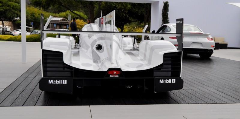 Car-Revs-Daily.com 2014 Porsche 919 LMP1 Racecar at the Quail 30