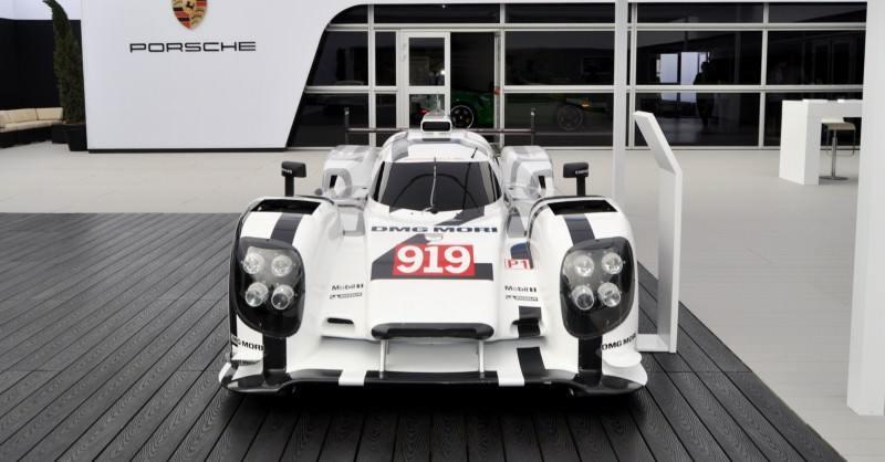 Car-Revs-Daily.com 2014 Porsche 919 LMP1 Racecar at the Quail 46