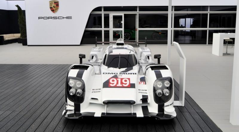Car-Revs-Daily.com 2014 Porsche 919 LMP1 Racecar at the Quail 47
