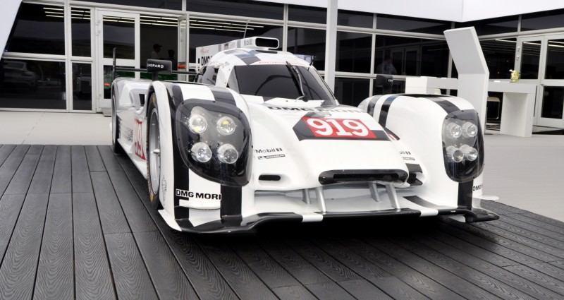 Car-Revs-Daily.com 2014 Porsche 919 LMP1 Racecar at the Quail 53