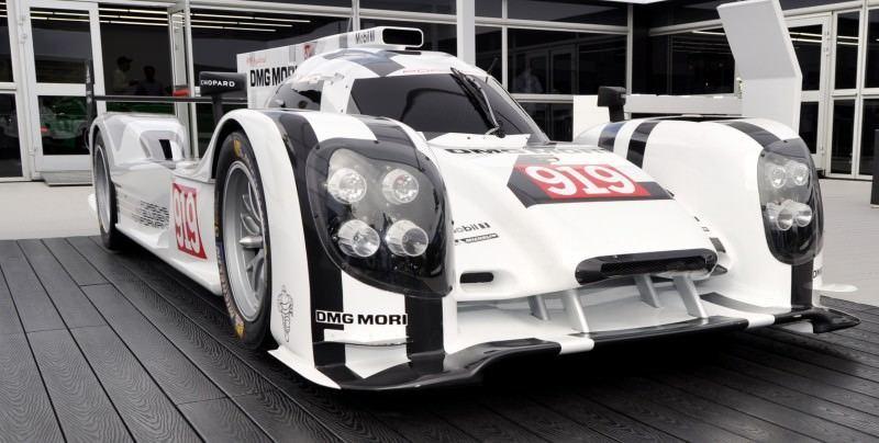Car-Revs-Daily.com 2014 Porsche 919 LMP1 Racecar at the Quail 55