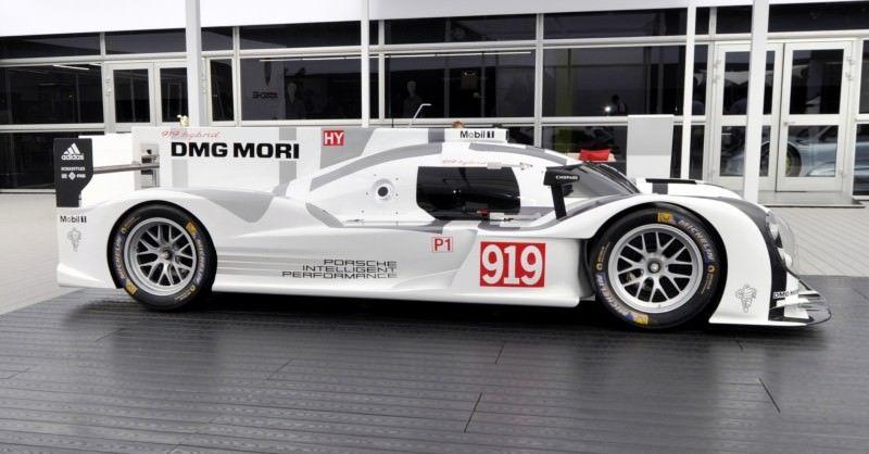 Car-Revs-Daily.com 2014 Porsche 919 LMP1 Racecar at the Quail 6