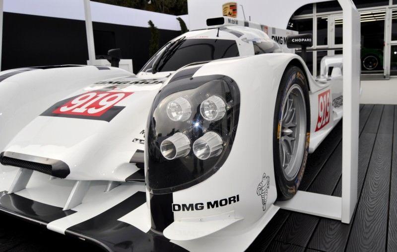 Car-Revs-Daily.com 2014 Porsche 919 LMP1 Racecar at the Quail 69