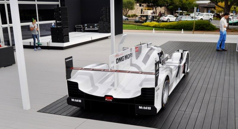 Car-Revs-Daily.com 2014 Porsche 919 LMP1 Racecar at the Quail 80