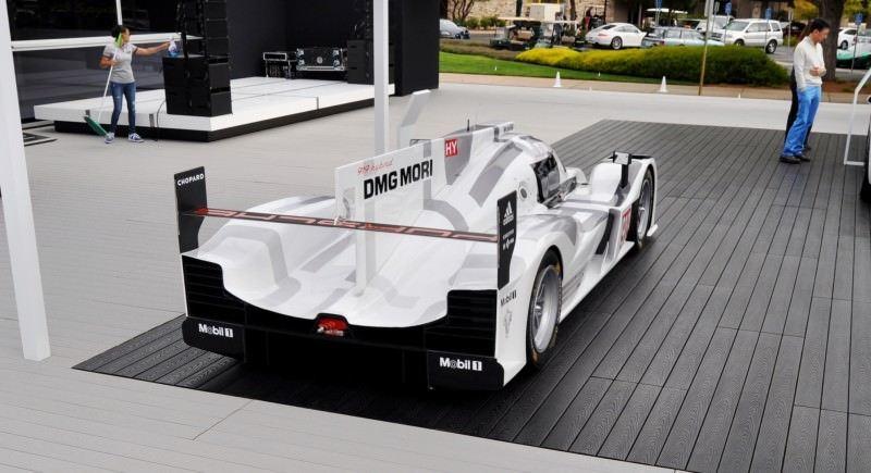 Car-Revs-Daily.com 2014 Porsche 919 LMP1 Racecar at the Quail 81