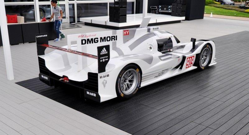 Car-Revs-Daily.com 2014 Porsche 919 LMP1 Racecar at the Quail 86