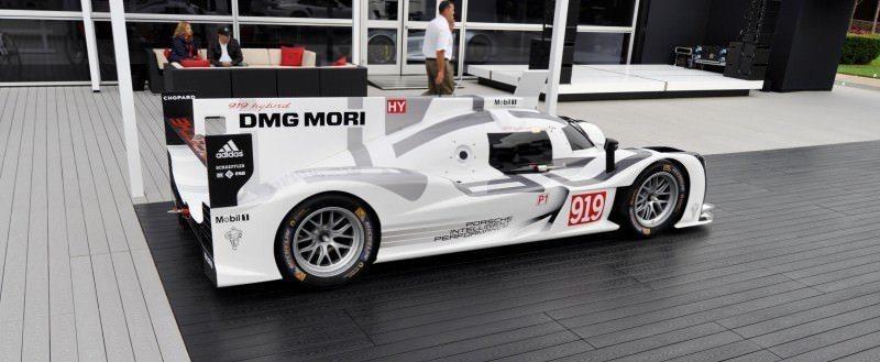 Car-Revs-Daily.com 2014 Porsche 919 LMP1 Racecar at the Quail 92