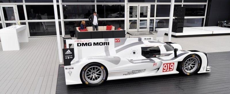 Car-Revs-Daily.com 2014 Porsche 919 LMP1 Racecar at the Quail 93