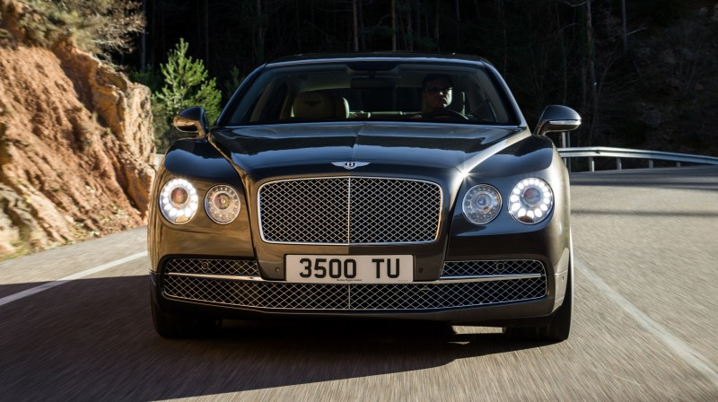 Car-Revs-Daily.com 2015 Bentley Flying Spur V8 Debuts in Moscow 46