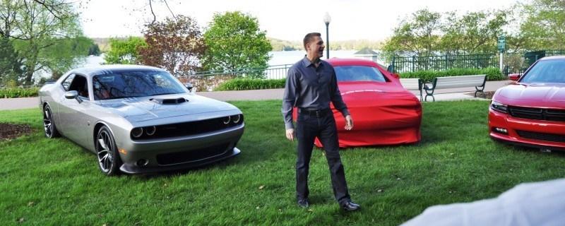 Car-Revs-Daily.com - 2015 Dodge Challenger SRT Hellcat Debut Photos and Video 13