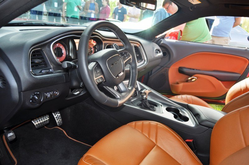 Car-Revs-Daily.com - 2015 Dodge Challenger SRT Hellcat Debut Photos and Video 34