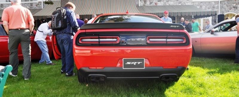 Car-Revs-Daily.com - 2015 Dodge Challenger SRT Hellcat Debut Photos and Video 42