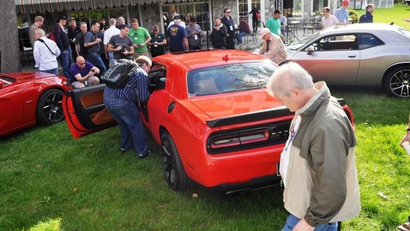 Car-Revs-Daily.com - 2015 Dodge Challenger SRT Hellcat Debut Photos and Video 43