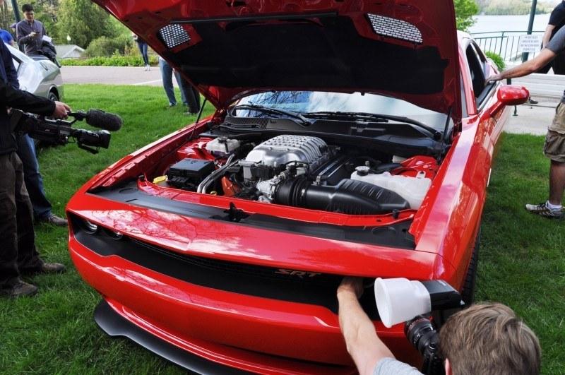 Car-Revs-Daily.com - 2015 Dodge Challenger SRT Hellcat Debut Photos and Video 47