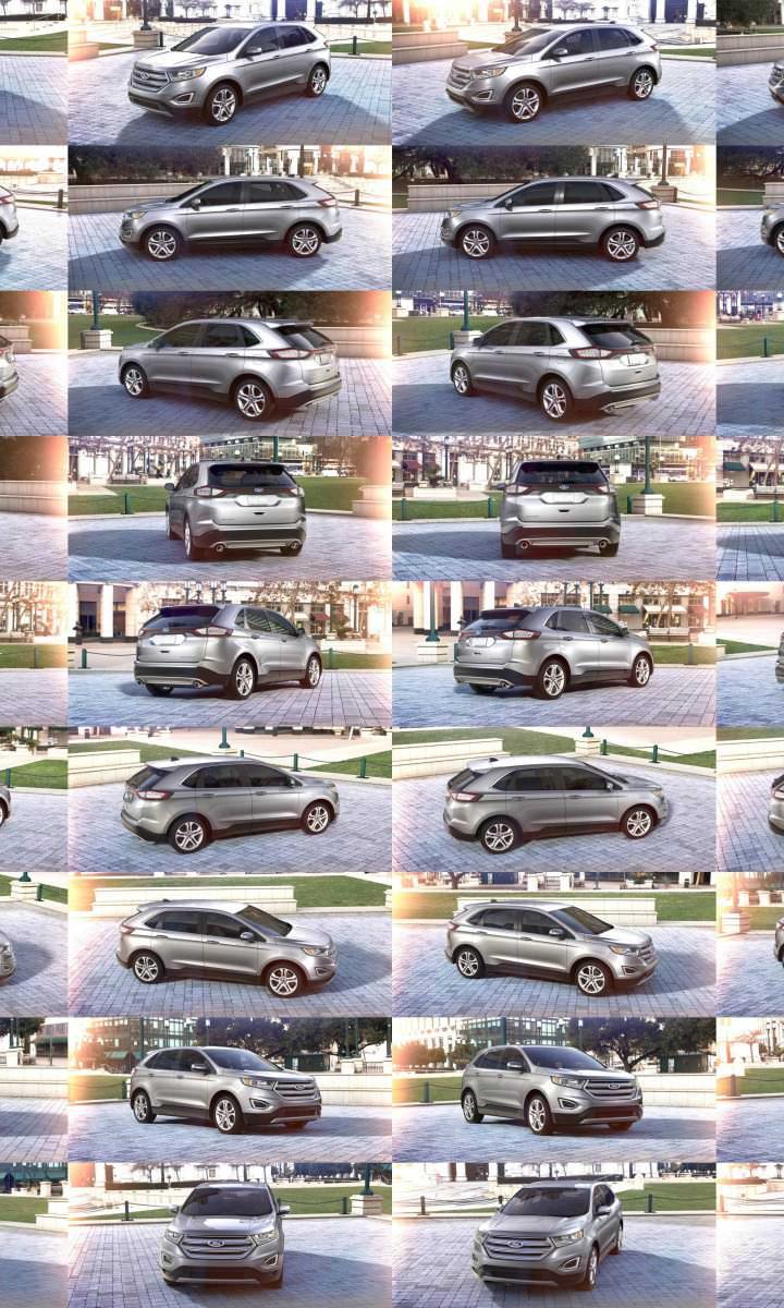 Car-Revs-Daily.com 2015 Ford Edge - Ingot Silver2332