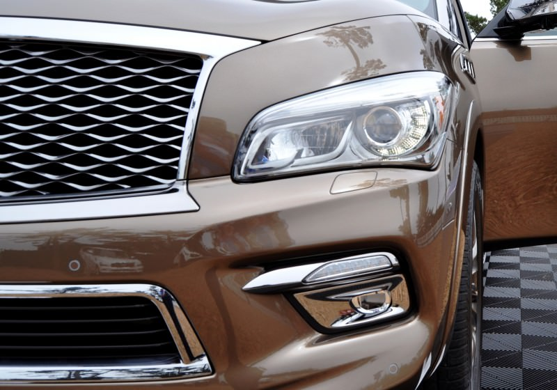 Car-Revs-Daily.com 2015 INFINITI QX80 Limited Pebble Beach 106