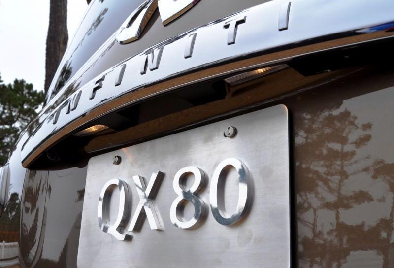 Car-Revs-Daily.com 2015 INFINITI QX80 Limited Pebble Beach 142