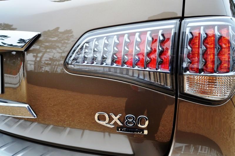 Car-Revs-Daily.com 2015 INFINITI QX80 Limited Pebble Beach 145