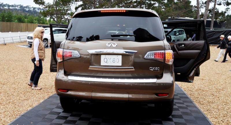 Car-Revs-Daily.com 2015 INFINITI QX80 Limited Pebble Beach 147
