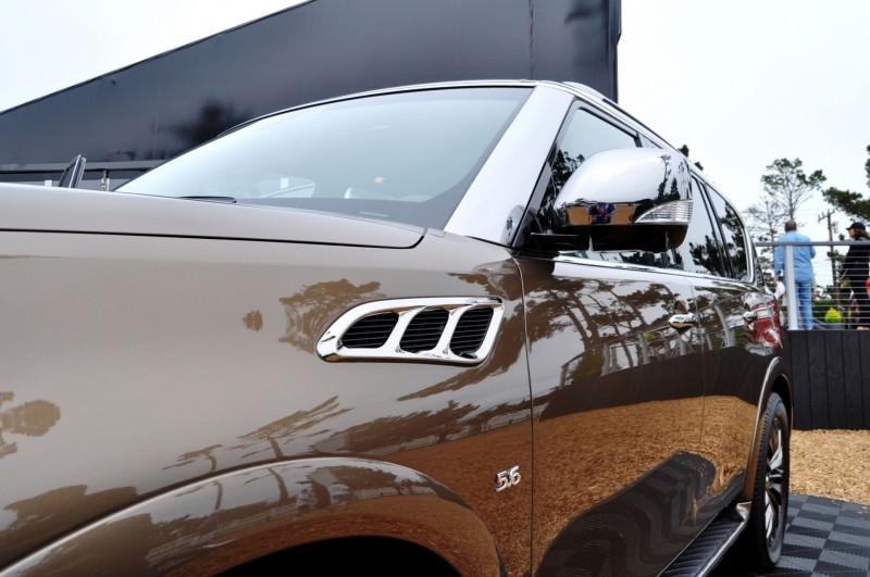 Car-Revs-Daily.com 2015 INFINITI QX80 Limited Pebble Beach 149